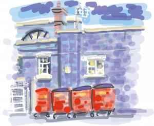 Worcester News: Amazing iPad art that celebrates the unloved corners of Worcester